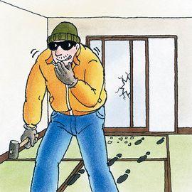 お宅の防犯対策はお済ですか?