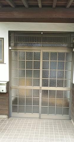リフォーム玄関引戸1 施工例