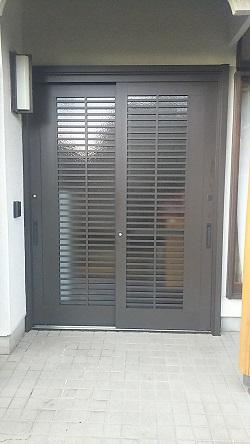 リフォーム玄関引戸2 施工例