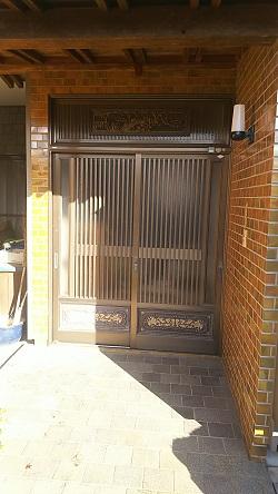 リフォーム玄関引戸3 施工例