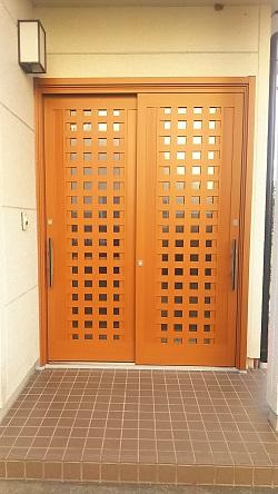 リフォーム玄関引戸4 施工例