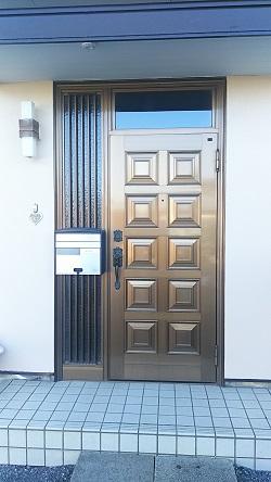 リフォーム玄関ドア2 施工例