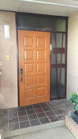 リフォーム玄関ドア3 施工例