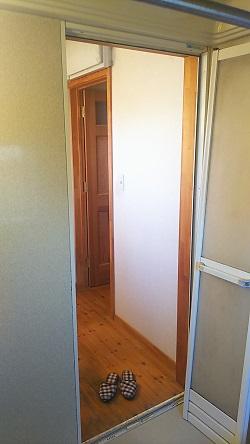 浴室中折れドア交換1 施工例